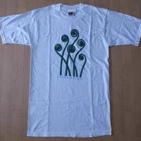 90's Karl Blossfeldt American Maidenhair Fern 植物 フォト Tシャツ S ホワイト カール ブロスフェルト 写真 芸術 ART【deg】