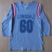 LONSDALE 七分袖 フットボール Tシャツ XS Paul Weller モッズ ロンズデール【deg】