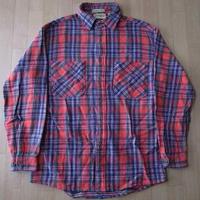 80's BIG MAC STJOHN'SBAY ヘビー ネルシャツ L ビックマック【deg】