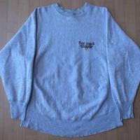 90's USA製 CHAMPION 刺繍タグ リバースウィーブ スウェット L 6 チャンピオン【deg】