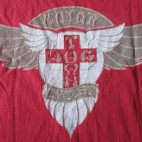 90's USA製 ドッグタウン MOTOR CYCLES Tシャツ M バーガンディ DOGTOWN Z-BOYS Jay Adams Tony Alva【deg】