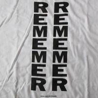 ケイ・ローゼン オールド FOTOFOLIO MISSING Tシャツ L KAY ROSEN REMEMER 言語 メッセージ アートART 芸術 現代美術 美術館 藤原ヒロシ【deg】