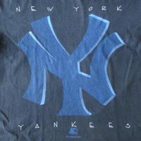 90's USA製 NY ヤンキース STARTER Tシャツ M黒New York Yankees メジャーリーグベースボール【deg】