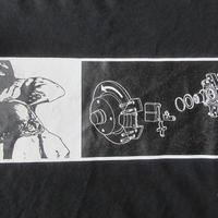 90's ダブリュー ケー インターアクト BOXロゴ Tシャツ L 黒ブラック ボックスWK interact芸術ART現代美術 グラフィティBanksy バンクシー【deg】