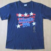 90's Atlanta Olympic 1996 星条旗 CHAMPION Tシャツ L USA 五輪 チャンピオン オリンピック【deg】