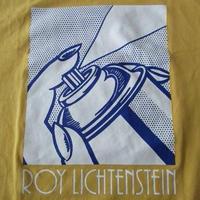 ロイ リキテンスタイン ユニクロ Spray Can 1963 両面プリント Tシャツ M イエロー Roy Lichtenstein芸術ART現代美術 リキテンシュタイン【deg】