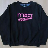 90's メキシコ製 USA製 Moog MUSIC CUSTOM ENGINEERING スウェット M モーグ シンセサイザー Synthesizer 電子楽器 ムーグ 【deg】