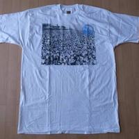 90's ウィージー コニーアイランド フォト Tシャツ XL Weegee Coney Island Shawn Stussy Beach FOTOFOLIOビーチART芸術【deg】
