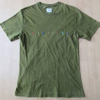 90's イタリア製 UNITED COLORS OF BENETTON ユナイテッド・カラーズ・オブ・ベネトン刺繍 ロゴ TシャツM【deg】