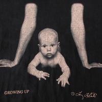 90's USA製 ラリー・ラボンテ GROWING UP ベビー フォト Tシャツ M 黒 ブラック Larry Labonte 写真家 赤ん坊 赤ちゃん 芸術 ART【deg】