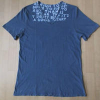 チュニジア製 Maison Martin Margiela AIDS T-shirts エイズ Vネック Tシャツ M メゾン マルタン マルジェラ カットソー 芸術 ART美術【deg】