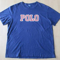 POLO RALPH LAUREN ロゴ 半袖 Tシャツ Lネイビー 紺 ラルフ ポロ ラルフローレン【deg】