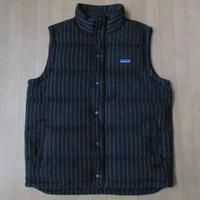 パタゴニア Quilt Again Vest Rockwall ダウン ベストLダークグレー系PATAGONIAキルト アゲイン グース 中綿 ジャケット ブルゾン キャンプ【deg】