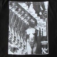 USA製 Richardson SHOWBOAT Perfect Pussyコラージュ Tシャツ 黒MagazineリチャードソンAndrewフォトART芸術Richard【deg】