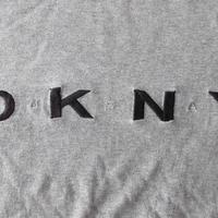 90's DKNY USA 刺繍 長袖 カットソー M ダナキャラン TシャツNYC Donna Karan New York【deg】