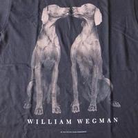 90's William Wegman Weimaraner ARC フォト Tシャツ M ウィリアム ウェッグマン FOTOFOLIO ワイマナラー犬 ART芸術 美術館 写真【deg】