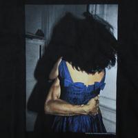90's ナン・ゴールディン FOTOFOLIO I'LL BE YOUR MIRROR Tシャツ M 黒 Nan Goldin ホイットニー 美術館 フォト ゲイ 同性愛 ポルノART【deg】