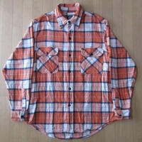 90s Levi'sシルバータブSilver Tabチェック柄 ヘビーネルシャツ リーバイス【deg】