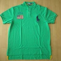 POLO RALPH LAUREN ビッグポニー USA ポロシャツ ラルフローレン サイズL【deg】