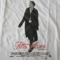 90's 非売品 USA製 Total Eclipse 太陽と月に背いて アルチュール ランボー フォトTシャツ 白Sレオナルド ディカプリオLeonardo DiCaprio 【deg】