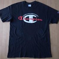 90's USA製 CHAMPION 目玉ロゴ Tシャツ L チャンピオン【deg】