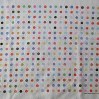 90's ダミアン ハースト センセーション展 スポットペインティング Tシャツ S SENSATIONブルックリン美術館Damien Hirst芸術ART現代美術【deg】