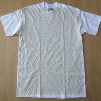 USA製 STUSSY 手刷り Tシャツ M 白 ショーン・ステューシー ストックロゴ【deg】
