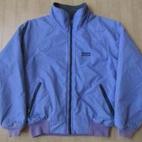 80s USA製 パタゴニア シェルドシンチラジャケット フリース 【deg】