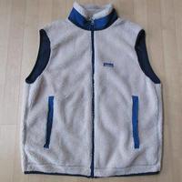 90's 1997年 USA製 パタゴニア レトロX ナチュラル フリース ベスト L PATAGONIA Classic Retro Vest Cardiganレトロカーディガン【deg】