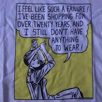 90's Roy Lichtenstein FOTOFOLIO FAILURE Tシャツ XL 白 ロイ リキテンスタイン ビッグシルエット ポップアート POP ART 芸術【deg】