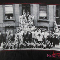 90's Art Kane FOTOFOLIO Harlem 1958 フォト Tシャツ M 黒JAZZジャズBlakey Count Basie Charles Mingus【deg】