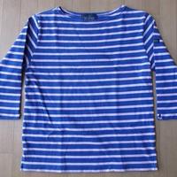 Le minor ボーダー バスクシャツ 七分袖 ルミノア カットソー【deg】