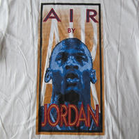 90's 日本製 NIKE AIR JORDAN Tシャツ L ホワイト ナイキ エア ジョーダン マイケルAJ MichaelジャンプマンJumpmanフォトNSWレトロ【deg】