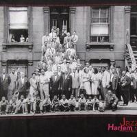 Art Kane FOTOFOLIO Harlem 1958 フォト Tシャツ M 黒 JAZZ ジャズ Blakey Count Basie Thelonious Monk【deg】