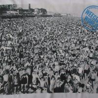 90's Weegee FOTOFOLIO Coney Island フォト Tシャツ ユース サイズ 1416 白 ウィージー コニーアイランド 写真 写真家 芸術 ART【deg】