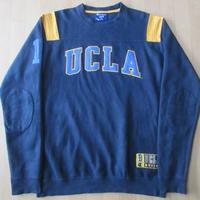 CHAMPION UCLA Bruins フットボール スウェット M 紺 トレーナー 【deg】