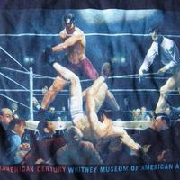 90's George Bellows Dempsey and Firpo TシャツXLボクシングART ジョージ ベローズ【deg】