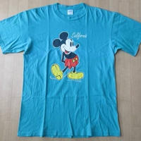 90's USA製 ミッキーマウス 半袖 Tシャツ L Disney Mickey Mouse【deg】