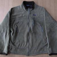 USA製 パタゴニアR4 フィールドグリーン フリース LジャケットR2【deg】