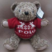 90's ラルフローレン 1998年 ポロベアー トナカイ 雪の結晶 POLO ニット ぬいぐるみ ポロ ベア BEAR人形RALPH LAURENクリスマス セーター【deg】