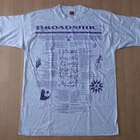 90's USA製 BROADSHIRT POETRY MAGAZINE 1995 Tシャツ XL