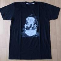 ダミアン ハースト スカル シップ Tシャツ M位 ブラック Damien Hirst Diamond Skull スカル ART 芸術 現代美術 コンテンポラリーアート【deg】