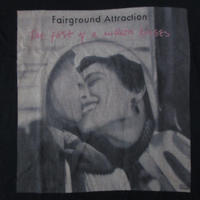 フェアーグラウンド・アトラクション The First of a Million Kisses Tシャツ M 黒 Fairground Attraction写真Elliott Erwitt