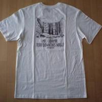 USA製 パタゴニア MR. OBAMA TEAR DOWN THIS WALL Tシャツ M ホワイト ダム建設反対 環境保護 バラク オバマ 大統領 キャンプ アウトドア【deg】