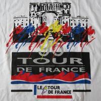 90's ツールドフランス 1996 オールド Tシャツ L Le Tour de France自転車 大会 サイクリング サイクル ミゲル インドゥライン 今中大介【deg】