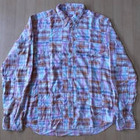 BACK DROP YANKEE WORKSパッチワーク BDシャツ マドラスチェック【deg】