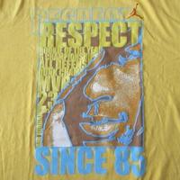 NIKE JORDAN BRAND Tシャツ M 黄色 Michael ジャンプマンAIR刺繍 ナイキ ジョーダン ブランド【deg】