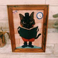 A4ポスター 醤油ちゃん(黒猫)