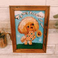 A4ポスター Toy Poodle(トイプードル)