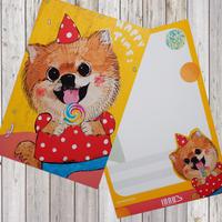 ポストカード   Candy-Pomeranian(ポメラニアン)